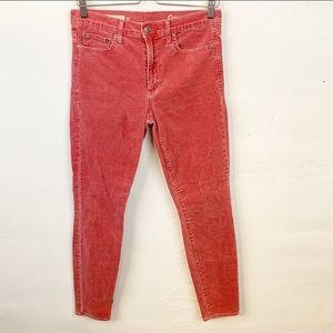 Gap l Modern Stretch True Skinny Cords In Chimney